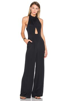 House of Harlow 1960 x REVOLVE Karen Jumpsuit in Black   REVOLVE