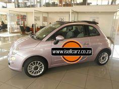 2015 Pink Fiat 500 1.4 Lounge www.isellcarz.co.za contactus@isellcarz.co.za