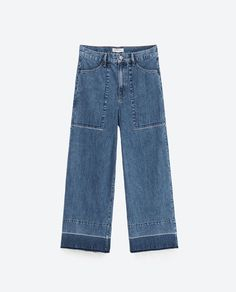 Image 8 of CULOTTE JEANS from Zara