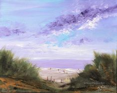 """Saatchi Art is pleased to offer the painting, """"Family at the Beach,"""" by Rine Philbin. Original Painting: Oil on Other. Bird Artists, Irish Landscape, Irish Art, Family Day, Seascape Paintings, Beach Art, Watercolor Art, Original Paintings, Fine Art"""