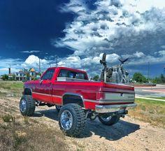 Lifted Trucks, Chevy Trucks, Square Body, Chevy Pickups, Offroad, 4x4, Biggest Truck, Chevrolet, Monster Trucks