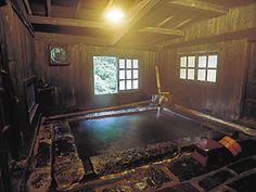 壁湯天然洞窟温泉 旅館福元屋/(大分県)