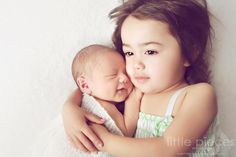baby and older sister