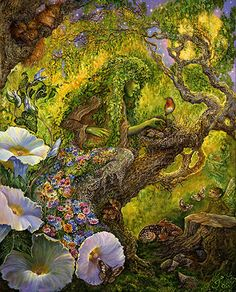Protector of the Forest - Josephine Wall