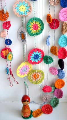 crochet garlands