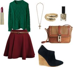 """""""Autumn Date Night"""" by debbie-fap on Polyvore"""