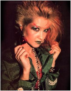 Cyndi Lauper, an inspiration for funky girls everywhere.