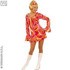 Disfraz de Chica Años 70 #disfraces