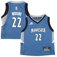 adidas Minnesota Timberwolves Preschool Custom Replica Road Jersey -  54.99   03d2de325