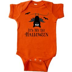 inktastic My 1st Halloween with Dancing Skeleton Long Sleeve Creeper