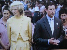 April 29, 1983: Prince Charles & Princess Diana attend a Maori Festival at Waitangi, Chatham Islands during the Royal Tour of New Zealand.