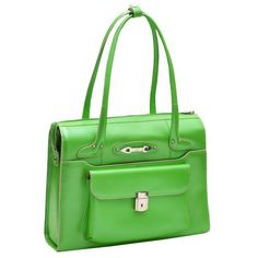 New Trending Briefcases amp; Laptop Bags: McKleinUSA WENONAH 96661 Green Leather Ladies Briefcase. McKleinUSA WENONAH 96661 Green Leather Ladies' Briefcase   Special Offer: $59.13      399 Reviews McKleinUSA WENONAH 96661 Green Leather Ladies' BriefcaseItalian LeatherSmall front pocket with key lock.Front pocket for filesMain compartment divided by secure zipper pocketPadded...