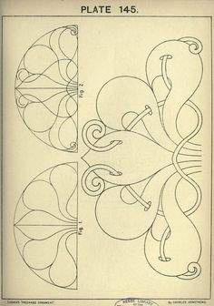 """""""Cusack's freehand ornament by Charles Armstrong"""" – 189 fotos Paper Embroidery, Embroidery Patterns, Tattoo Painting, Motifs Textiles, Ornament Drawing, Art Nouveau Pattern, Illustration, Islamic Art, Line Art"""