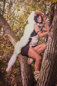 Love this Princess Mononoke cosplay