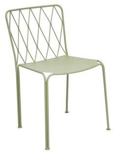 Chaise Kintbury / Métal Tilleul - Fermob - Décoration et mobilier design avec Made in Design