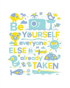 Be A Good One by Julia Rothman @Ceri Gough would like this.