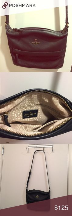 NWOT kate spade Starla crossbody bag kate spade Grant Park Starla black leather crossbody bag. Like new, bought at Nordstrom Rack and never used it. Cute and functional purse for daily use, has lots of space and interior pockets. kate spade Bags Crossbody Bags