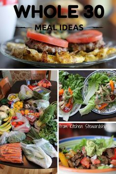 Whole 30: Week 1 Meal Plan (Stilettos and Diapers) | Best Whole30 ...