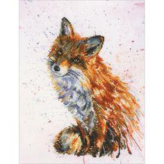 Foxy (counted cross stitch kit) RTO