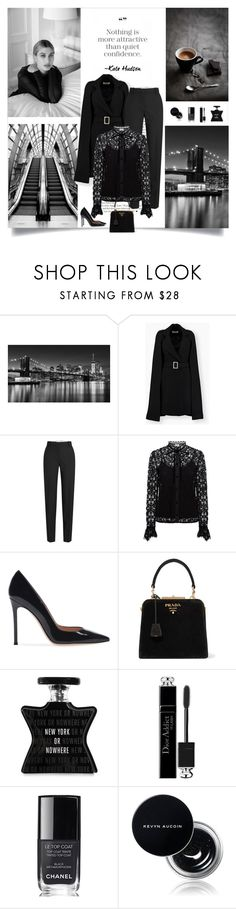 """Nothing is more attractive than quiet confidence."" by danniss ❤ liked on Polyvore featuring Baldwin, Calvin Klein 205W39NYC, Temperley London, Prada, Bond No. 9, Christian Dior, Chanel and Kevyn Aucoin"
