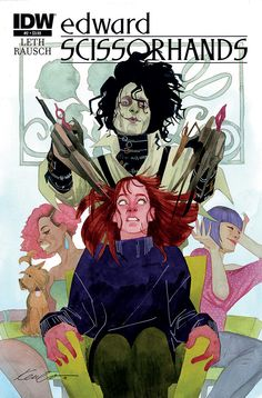 Edward Scissorhands N°2 (of 5) - Cover by Kevin Wada