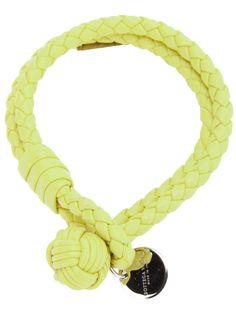 BOTTEGA VENETA plaited leather bracelet $216