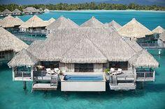 Bora Bora (Polinesia Francese) - The St. Regis Bora Bora Resort 5* - Hotel da Sogno   Posti da Sogno
