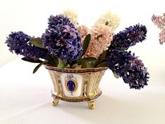 Porcelain hyacynths flowers  Vladimir Kanevsky  #porcelain #art