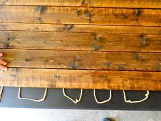 Rustic Farmhouse Coffee Table DIY by Rachel Schultz