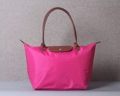 dcb0e06f9d195 Authentic Longchamp - Le Pliage Tote Bag Large Nylon - Pink - Made in  France in Clothing
