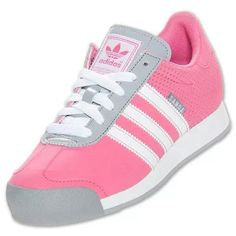 Addidas, got these in black suede trim in pink!