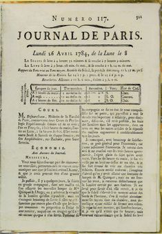Le journal de Paris par Zoé&Tess