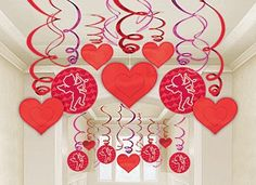 shop Valentine's Day party supplies at ShindigZ with reduced prices.Valentine balloons, candy heart decorations, Valentine archs and lots of other Valentine Valentine Day Love, Valentines Day Party, Valentine Day Crafts, Funny Valentine, Holiday Crafts, Valentinstag Party, Heart Party, Valentines Day Decorations, Valentine's Day Diy