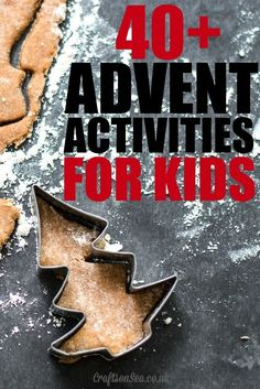 Tons of Advent calendar activities for kids! Love this Christmas holiday tradition.