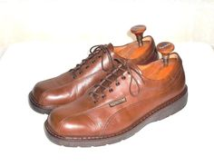 Mehpisto Air Relax Brown Leather Casual Oxford Shoe Made in Portugal Men's US 11 #Mephisto #Oxfords