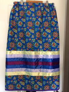 Items similar to Custom Made To Order Ribbon Skirts on Etsy Traditional Skirts, Applique Skirt, Native Wears, Native American Clothing, Ribbon Skirts, Sweat Dress, Skirt Tutorial, Sewing Diy, Ribbon Work