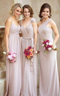 One-Shoulder Sexy Bridesmaid Gown 8852_alt3 via Sorella Vita