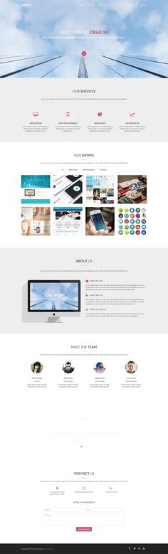 Dreams a Single Page Multipurpose Flat Bootstrap Responsive web - bootstrap resume template