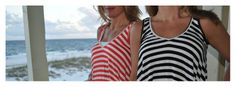 Stripe tops are soooo in for summer!