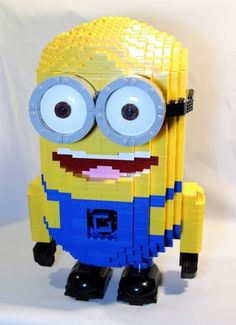 Just love these industrious little guys. Lego Minion!