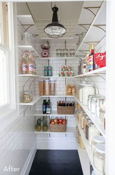 Before and After: An Outdated Pantry Gets a DIY Renovation » Curbly | DIY Design Community