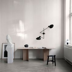 Founded by Alessandro Sarfatti, contemporary lighting brand Astep combines a rich history of Italian design with traditional Scandinavian. Vigan, Interior Stylist, Interior Design, Design Industrial, Direct Lighting, Black Walls, How To Make Light, Lamp Design, Design Design