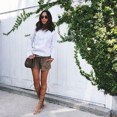 Yesterday's easy breezy outfit in L.A. www.liketk.it/19RhU #liketkit
