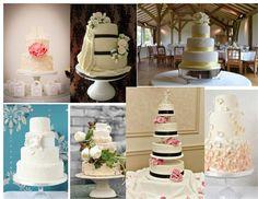 Wedding Cakes #hitchedmoodboard