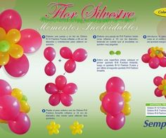 How to make balloon flowers #party #birthday #baby #shower #balloon #flower #decorate #decoration #buffet