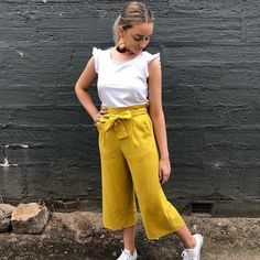 Kiran Culotte  #fashion #mixandco #afterpayit #afterpay #shoponline #shopinstore #shopnowpaylater #linen #love