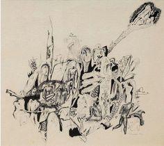 walter-battiss:  Primordial Scene Walter Battiss Walter Battiss, Wassily Kandinsky, Moose Art, Scene, Abstract, Artist, Animals, Painting, Summary