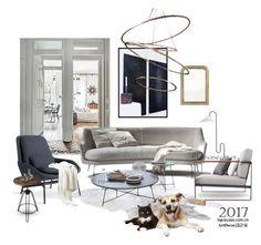 """Untitled #156"" by annie-qiu on Polyvore featuring interior, interiors, interior design, home, home decor, interior decorating, ClassiCon, LEXON and Butler"