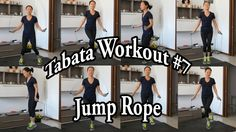Tabata Workout #7: Fun Jump Rope Circuit