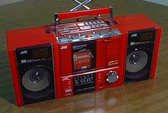 red boombox | Boombox Decline & Fall | Vintage Electronics Have Soul – The Pocket ...